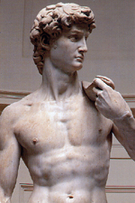sculpture of david by michelangelo