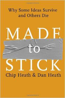 made to stick book