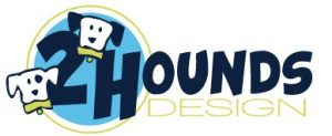 2 Hounds Design logo